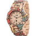 【送料無料】ウッドベージュorologio in legno wewood date woop love beige wood watch