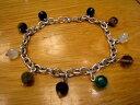 ショッピングアクセサリーセット 【送料無料】ブレスレット アクセサリ— セットブレスレットイギリスsilver gem set bracelet 211 grms from uk