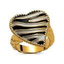 ショッピングREGAL 【送料無料】ブレスレット リングキャバリゼブラゴールドハートリングanello just cavalli ci90816 just zebra gold heart ring idea regalo