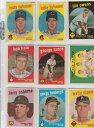 【送料無料】スポーツ メモリアル カード ##ベースボールカードビルダーセットinfield power 519 hi 1959 topps baseball card vg to ex set builder******