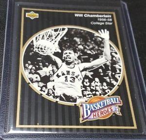 【送料無料】スポーツ メモリアル カード アッパーデッキバスケットボール#チェンバレンカレッジスターカンザス