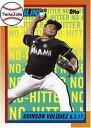 【送料無料】スポーツ メモリアル カード #2017 topps tbt 80 edinson volquez 1990 baseball 5000 strikeout design