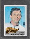 【送料無料】スポーツ メモリアル カード #ドン1965 topps baseball 469 don nottebart exmt *9236