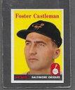 【送料無料】スポーツ メモリアル カード #キャッスルマンフォスター1958 topps baseball 416 foster castl...