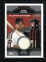 【送料無料】スポーツ メモリアル カード マイクピアッツァステッチゲームニュージャージーmike piazza 2005 topps allstar stitches game used worn jersey ad5980