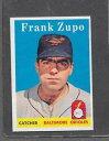 數位內容 - 【送料無料】スポーツ メモリアル カード #フランク1958 topps baseball 229 frank zupo exmt *6526