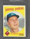 【送料無料】スポーツ メモリアル カード #ジョニー1959 topps baseball 495 johnny podres ex *04...