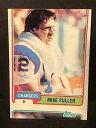 【送料無料】スポーツ メモリアル カード マイクフラーサッカーエラーカード#mike fuller 1981 topps football ...