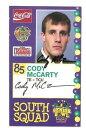【送料無料】スポーツ メモリアル カード シニアボウルカードサインカエルcody mccarty 2005 senior bowl rook...