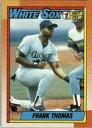 【送料無料】スポーツ メモリアル カード フランクトーマス#1990 topps frank thomas 414