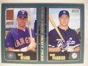【送料無料】スポーツ メモリアル カード デビッドニューヨークヤンキーズベースボールカードサインdavid parrish signed rc ny yankees 2001 topps baseball card auto autographed 356
