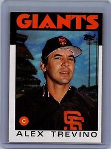 【送料無料】スポーツ メモリアル カード #アレックストレビノサンフランシスコジャイアンツ1986 topps 444 alex trevino san francisco giants