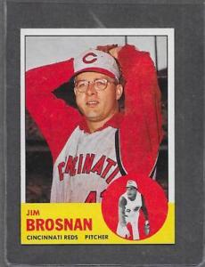 【送料無料】スポーツ メモリアル カード #ジム1963 topps baseball 116 jim brosnan exmt *0116a