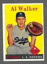 【送料無料】スポーツ メモリアル カード #アルウォーカー1958 topps baseball 203 al walker exmt *b...