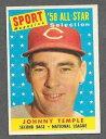 б┌┴ў╬┴╠╡╬┴б█е╣е▌б╝е─ббесетеъевеыббелб╝е╔бббЇе╕ече╦б╝1958 topps baseball 478 johnny temple as exmt *b4495