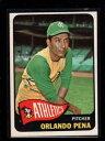 【送料無料】スポーツ メモリアル カード #1965 topps 311 orlando pena athletics nm lh4812
