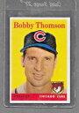 【送料無料】スポーツ メモリアル カード #ボビートンプソン1958 topps baseball 430 bobby thompson ex *0430c
