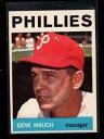 【送料無料】スポーツ メモリアル カード #フィリーズ1964 topps 157 gene mauch mg phillies nm lh7457