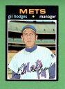 【送料無料】スポーツ メモリアル カード #ギルホッジズメッツ1971 topps 183 gil hodges mets exnm