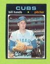 б┌┴ў╬┴╠╡╬┴б█е╣е▌б╝е─ббесетеъевеыббелб╝е╔ббе╙еыбЇе╖еле┤еле╓е╣е┴б╝ерелб╝е╔1971 topps bill hands 670 chicago cubs team card