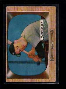 【送料無料】スポーツ メモリアル カード #ギル1955 bowman 9 gil mcdougald vgex d7455