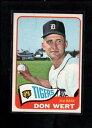 【送料無料】スポーツ メモリアル カード #ドンワート1965 topps 271 don wert nm lc8156