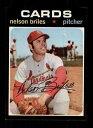 【送料無料】スポーツ メモリアル カード #ネルソンマウント1971 topps baseball 257 nelson briles cardinals starx 8 nmmt cs17894