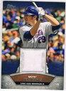 【送料無料】スポーツ メモリアル カード ミニデイビスチームニューヨークメッツ2013 topps mini relics ida ike davis team york mets mem baseball