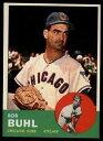 【送料無料】スポーツ メモリアル カード #ボブカブス1963 topps baseball 175 bob buhl cubs starx 75 nm cs06388