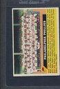 【送料無料】スポーツ メモリアル カード #フィラデルフィアフィリーズチーム1956 topps gb 072 philadelphia phillies team vg *197