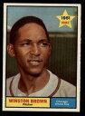 數位內容 - 【送料無料】スポーツ メモリアル カード #ウィンストンブラウンホワイトソックスマウント1961 topps baseball 391 winston brown rc white sox starx 8 nmmt cs18531