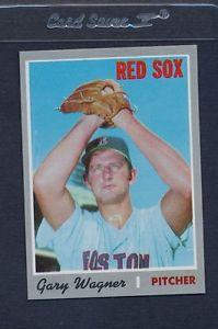 【送料無料】スポーツ メモリアル カード #ゲイリーワグナーレッドソックスナノメートル1970 topps 627 gary wagner red sox nmmt *5645