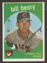 數位內容 - 【送料無料】スポーツ メモリアル カード #ビルヘンリー1959 topps baseball 46 bill henry inv j1220