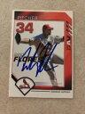 【送料無料】スポーツ メモリアル カード ランディフロレスサインカージナルス2007 dav randy flores auto signed autograph cardinals