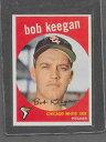 【送料無料】スポーツ メモリアル カード #ボブ1959 topps baseball 86 bob keegan exmt *6941