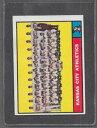 【送料無料】スポーツ メモリアル カード 1961トップス272カンザスシティーaチームexmt*0297d1961 topps baseball 272 kansas city as team exmt *0297d