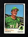 【送料無料】スポーツ メモリアル カード 1973topps dal maxvilloakland as autographed card1973 topps dal maxvilloakland as autographed card
