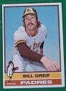 【送料無料】スポーツ メモリアル カード ビルグライフパドレス1976184トップスベースボールカードvg condbill greif, padres, 1976 184 topps baseball card, vg cond