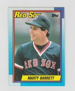 【送料無料】スポーツ メモリアル カード マーティーバレットレッドソックス1990トップス355marty barrett red sox 1990 topps 355