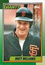 【送料無料】スポーツ メモリアル カード マットウィリアムズ1990トップス41matt williams giants 1990 topp...