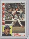 數位內容 - 【送料無料】スポーツ メモリアル カード 1984トップスレジージャクソン