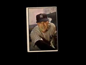 【送料無料】スポーツ メモリアル カード 1953bowman27ヴィックraschi poord5825011953 bowman color 27 vic raschi poor d582501