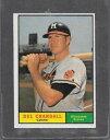 【送料無料】スポーツ メモリアル カード 1961トップス390 delクランダルexmt*59371961 topps baseball 390 del crandall exmt *5937