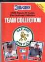【送料無料】スポーツ メモリアル カード 1988donrussチーム oakland aチームセット1988 donruss team collection book oakland as team set