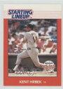 【送料無料】スポーツ メモリアル カード ラインナップカードケントミネソタツインズカード listing1988 starting lineup cards kehr kent hrbek minnesota twins baseball card