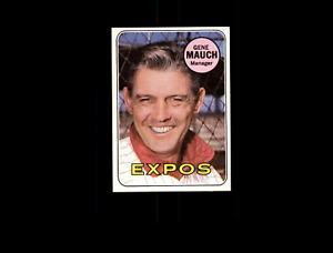 【送料無料】スポーツ メモリアル カード 1969トップス606ジーンマウフmg nmd7305611969 topps 606 gene mauch mg nm d730561