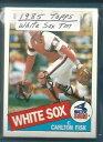 【送料無料】スポーツ メモリアル カード シカゴホワイトソックスチーム1985 topps chicago white sox team s...