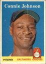 【送料無料】スポーツ メモリアル カード ボルティモアオリオールズカード#コニージョンソン1958 topps baltimore orioles basebal..