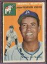 【送料無料】スポーツ メモリアル カード マーティン1954 topps 168 morrie martin vgex d191244