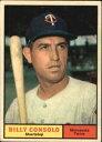 【送料無料】スポーツ メモリアル カード #ビリー1961 topps 504 billy consolo exmt